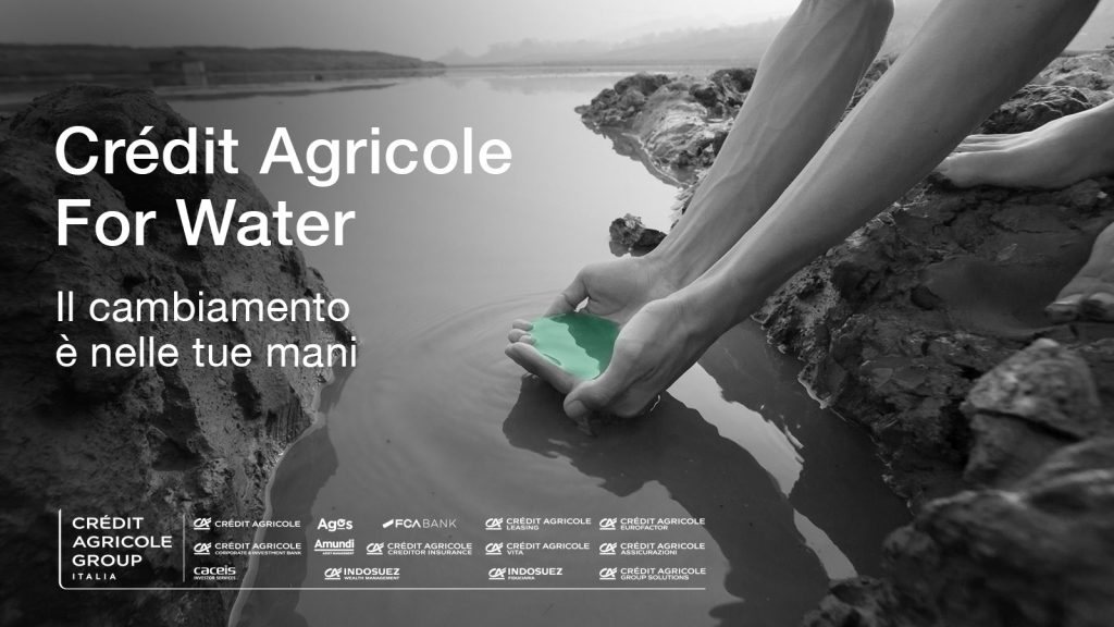 Crédit Agricole For Water: online la nuova call di idee